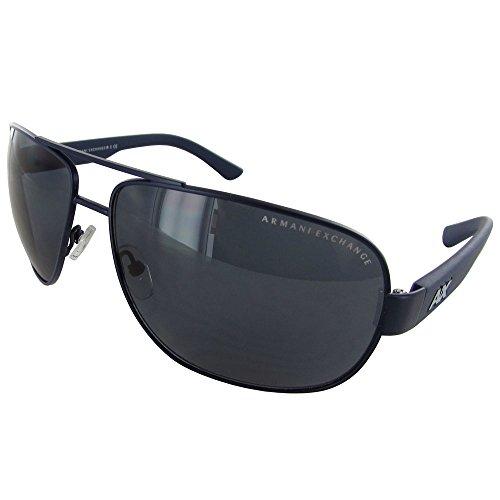 - Armani Exchange Men's Metal Man Aviator Sunglasses, Satin Blue Depth/Dark Maritime, 62 mm