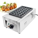 IXAER Electric Takoyaki Maker Pan, Commercial 28Pcs