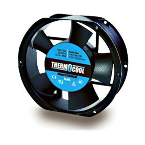 """Thermocool Axial Cooling Fan 110V 176CFM 6.77"""" X 5.9"""" Truncated"""