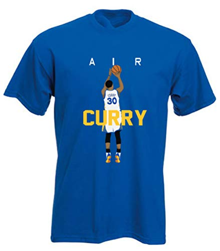 - The Tune Guys Blue Golden State Curry Air Pic T-Shirt (4T)
