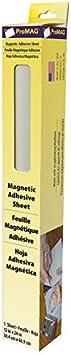 multicolor Material sint/ético Magnum Magnetics Corp L/ámina magn/ética con adhesivo 12 x 24-Inch