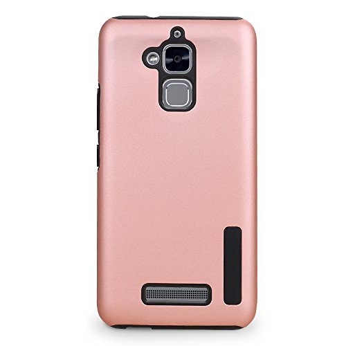 new styles 28f92 8a34a Asus ZenFone3 Max ZC520TL Phone Case, TOP K Hybrid Heavy Duty Slim Armor  Hard PC + Soft TPU Shockproof Protection Defender Case for Asus ZenFone 3  Max ...