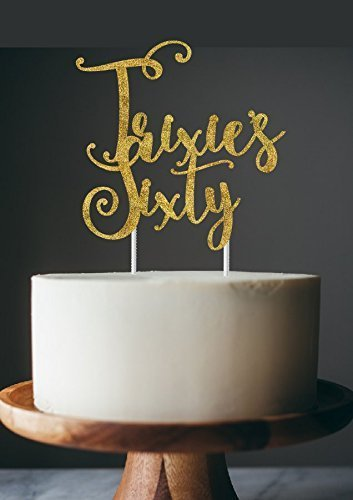 Image Unavailable Not Available For Color 60th Birthday Cake Topper