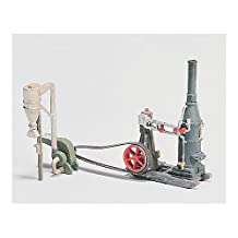 HO Steam Engine/Hammer Mill