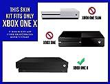 Microsoft Xbox One X Skin (XB1X) - NEW - CITRUS ORANGE system skins faceplate decal mod