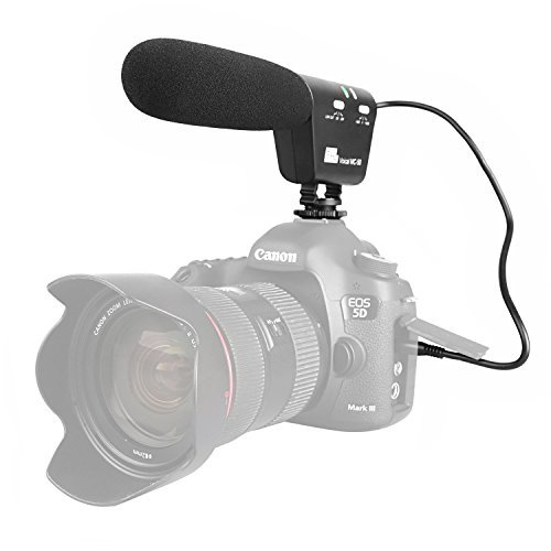 Pixel MC-50 High Definition Voice Camera Microphone Low-