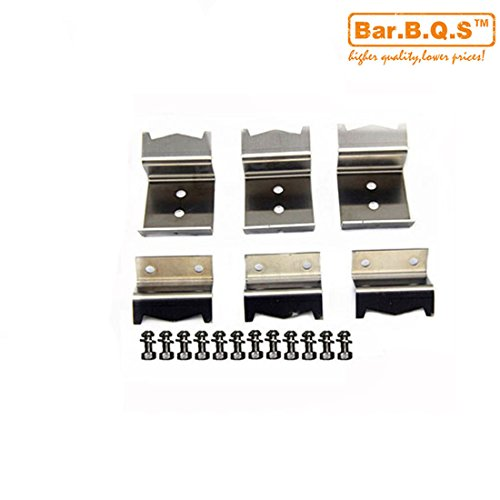 Best Price Bar.b.q.s Stainless steel heat plate brackets & burner hanger brackets replacement for Ch...