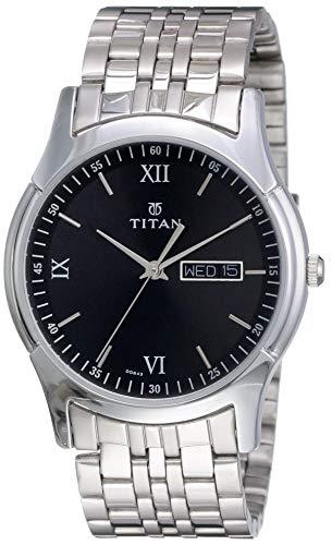 Titan Karishma Analog Black Dial Men's Watch NM1636SM01/NN1636SM01