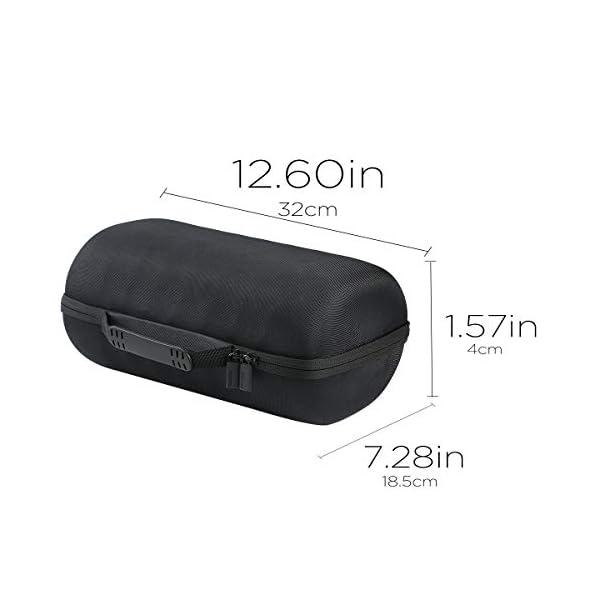 co2CREA Voyage Stockage Porter Étui Housse Case pour Sonos Move Enceinte Bluetooth 6