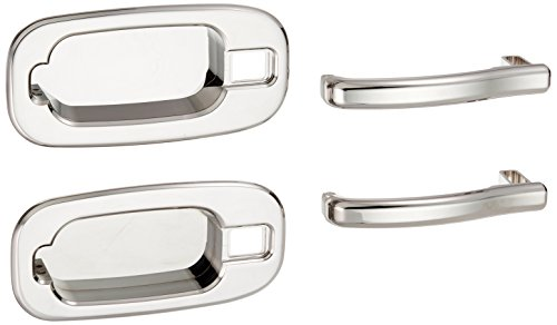 (All Sales 902C Chrome Billet Aluminum Rear  Handle and Bucket Kit)