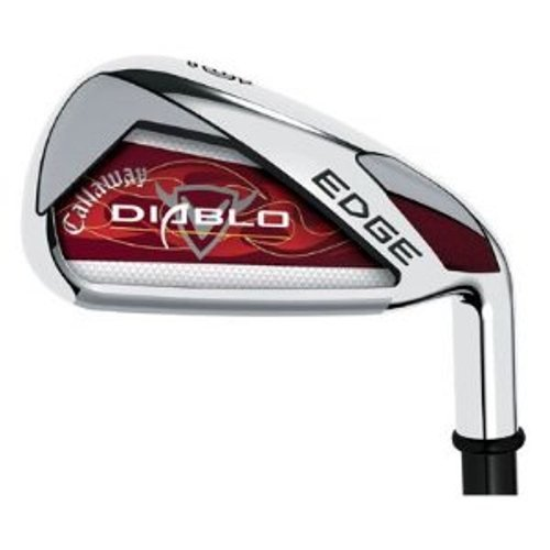 Callaway Golf Diablo Edge Irons, Set of 9 (Left Hand, 3S, Graphite, Senior), Outdoor Stuffs