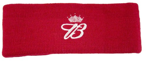 Budweiser Embroidered Earwarmer, Head Band, Sweatband, Officially Licensed (Red)