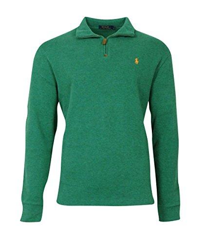 Polo Ralph Lauren Men's Half Zip French Rib Cotton Sweater