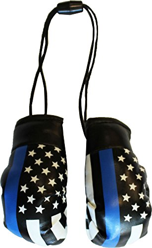 - Thin Blue Line (USA) - Mini Boxing Gloves