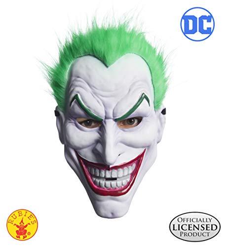 Rubie's Men's Joker Clown Mask, As Shown, One Size