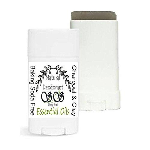 Baking Soda Free Natural Deodorant | Bentonite Clay | Activated Charcoal | Vegan option | Cruelty Free