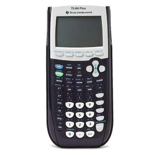 Electronics : Texas Instruments Ti-84 plus Graphing calculator - Black