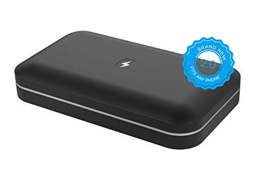 PhoneSoap 2.0 - Phone Sanitizer and Universal Charger, Uses UV-C Light To Sanitize and Kill Bacteria, Works With...