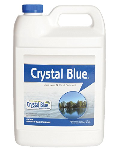Crystal Blue Lake and Pond Dye - Royal Blue Color - 1 Gallon