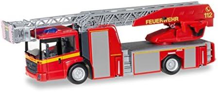 """093200-1:87 MB Atego Ziegler Z-Cab LF 20 /""""Feuerwehr/"""" neutral Herpa"""