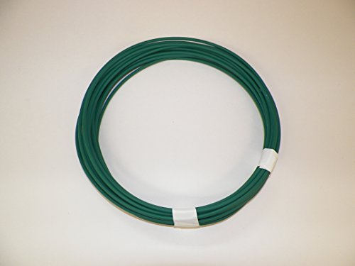 GREEN Automotive Copper Wire, GXL, 18 GA, AWG, GAUGE. Truck, Motorcycle, RV. General Purpose. 5 DEFFERENT LENGTHS, SELECT LENGTH BELOW (10 - Green Copper Color