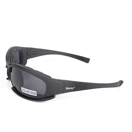 e979318799 Yanj Deportes Gafas Exterior Montar Luz Polarizada Colisión A Prueba De  Explosiones Control De Arena Espejo