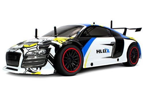 Velocity Toys 2.4 GHz Big Size 1:10 Scale Reaper Racer Remote Control Supercar with Lithium Battery