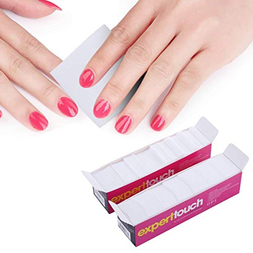 620pcs toallitas uñas arte acrílico Gel Tips Remover Nail Art Soak Off Clip Cap Polish Remover Wrap Nail herramienta: Amazon.es: Belleza