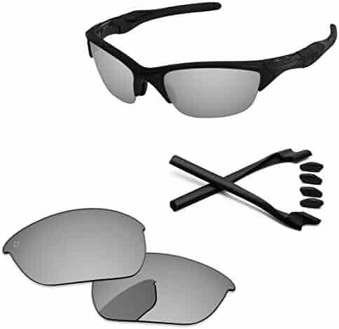 8f7492c0e792e PapaViva Lenses Replacement   Rubber Kits for Oakley Half Jacket 2.0
