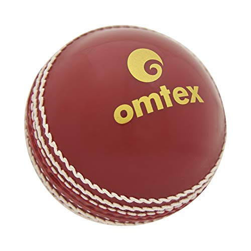Omtex Pro Synthetic Ball, Size Standard  Red