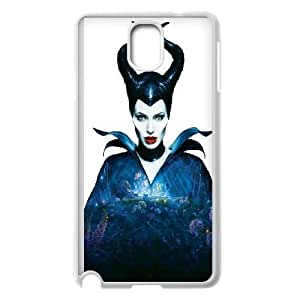 Maleficent Angelina Jolie Horns Fairy Tail Samsung Galaxy Note 3 Cell Phone Case White Phone Accessories JV247G60