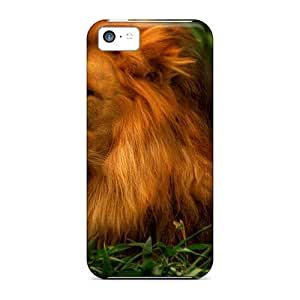 Scratch-proof Protection Case Cover For iPhone 5 5s/ Hot Lion Phone Case
