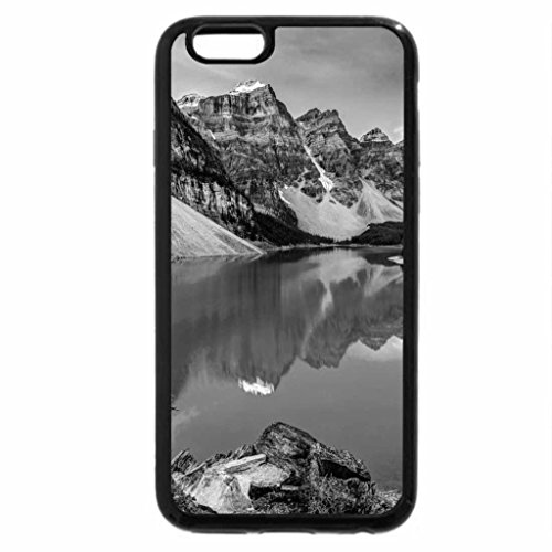 iPhone 6S Case, iPhone 6 Case (Black & White) - Lake