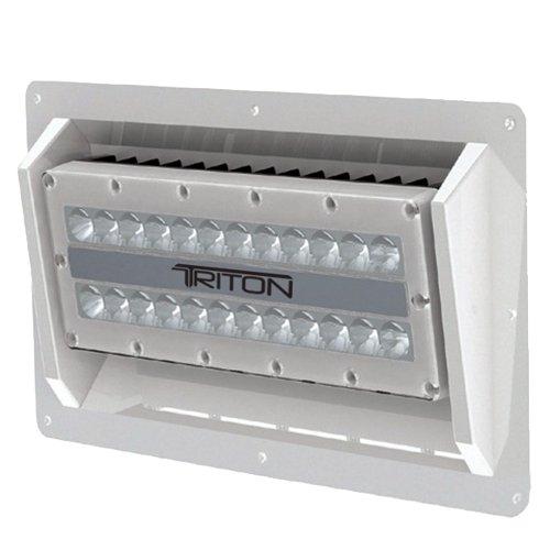 Lumitec Lighting 101153, Triton Semi-Recessed Mount, LED High Powered Flood Light, 12 Volt