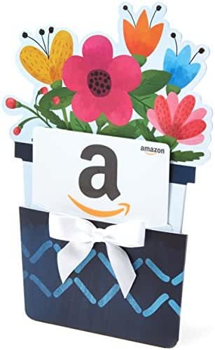 Amazon easter occasions gift cards amazon gift card for any amount in a flower pot reveal classic white negle Image collections