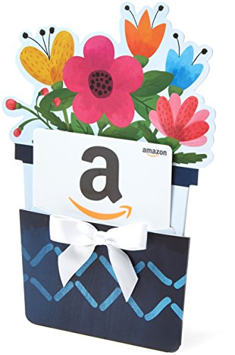 Amazon.com Gift Card in a Flower Pot Reveal]()