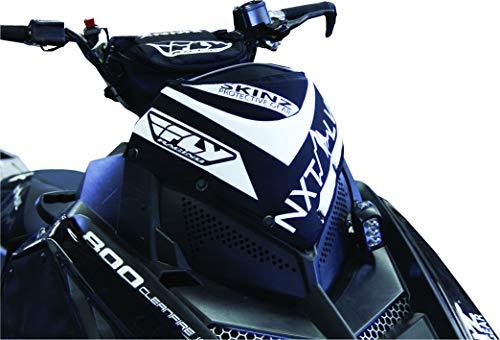 Skinz Protective Gear NXT LVL Windshield Pack - Black/White NXPWP200-BK/WHT