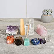 The Lifestyle on Fire Chakra Kit is a natural crystal set that will set yo While other chakra sets claim to be high quality and authentic, oftentimes they contain low quality, chemically altered or dyed chakra crystals, or are missing stones that are...