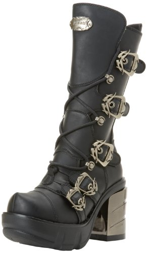 Nero Vegan 203 Sinister blk Leather Donna Demonia Stivaletti xwF7qvnCZ
