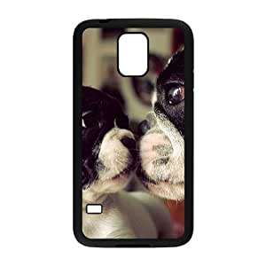 VNCASE Cute Dog Phone Case For Samsung Galaxy S5 i9600 [Pattern-1]