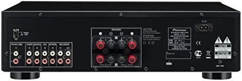 Pioneer A-10-K - Amplificador estéreo con Direct Energy Design, Negro