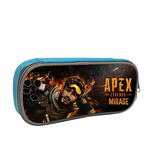 Mirage Rectangular Table - davdeyoo Pencil Case Pen Bag Apex Legends Mirage Makeup Pouch Durable Students Print Stationery with Double Zipper for Boys&Girls