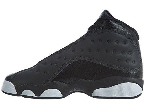 ... Jordan Nike Barna Luft 13 Retro Bg Basketball Sko Sort /  Antrasitt-antrasitt ...