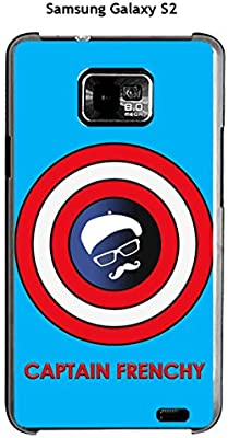 Onozo Carcasa Samsung Galaxy S2 diseño Captain Frenchy fondo ...