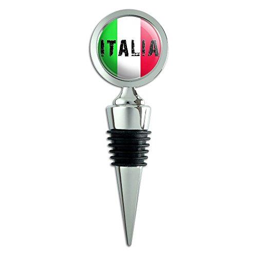 Italia Italy Italian Bottle Stopper