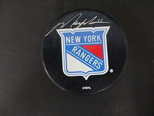 Mark Messier Autographed Signed Memorabilia Official Ny Rangers Puck Autograph Auto Steiner - Certified Authentic