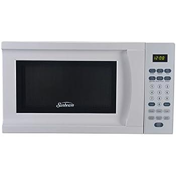 Amazon Com Sunbeam Sgs90701b B 0 7 Cubic Foot Microwave