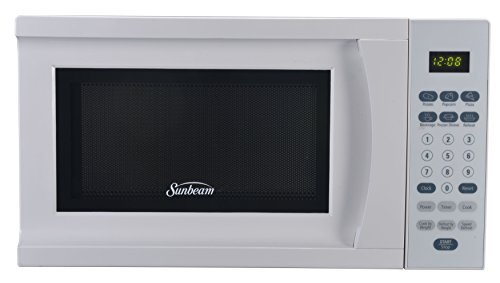 Sunbeam SGS90701W-B 0.7-Cubic Foot Microwave Oven, White (Microwave Oven Small White compare prices)