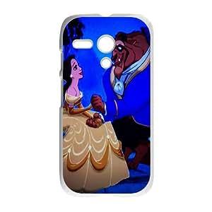 Disneys-Beauty-and-the-Beast Motorola G Cell Phone Case White Moziu