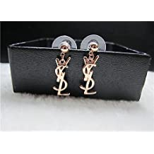 Trendy Gold Vintage Small Y Studs Earrings